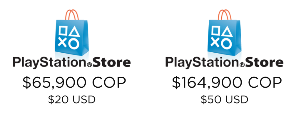 pines prepago PlayStation Store Colombia