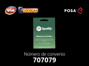 pines prepago en baloto Spotify