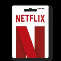 PIN virtual Netflix $50.000