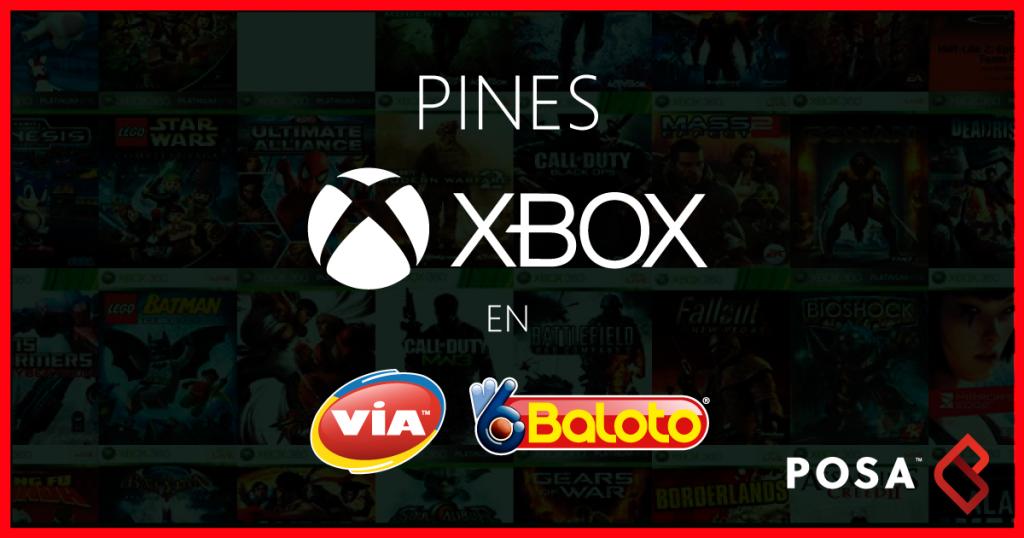 Pines Xbox Baloto - POSA