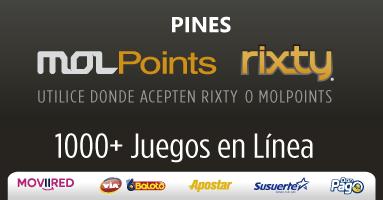 Pines De Juegos Rixty Mol Points Roblox Y Mas Sin Tarjeta De Credito