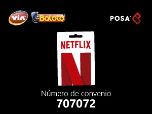 pines prepago en baloto Netflix