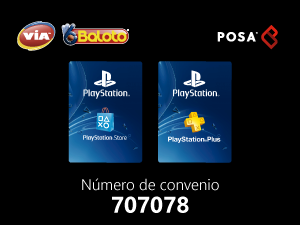 pines prepago en baloto PlayStation