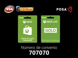 pines prepago en baloto Xbox