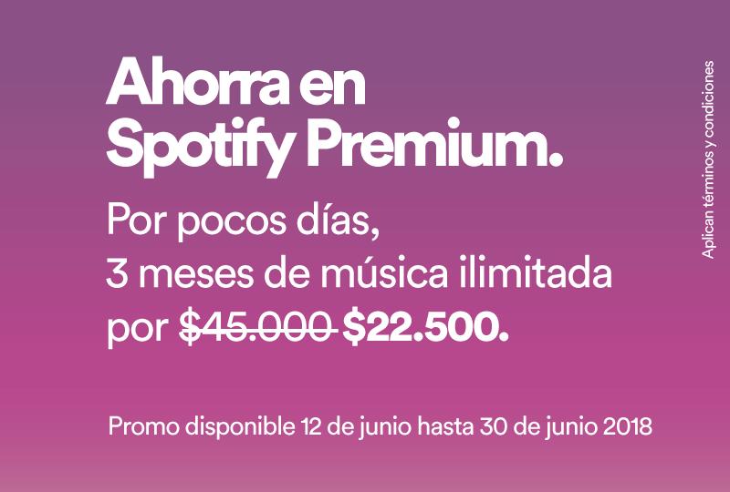 Promoción Spotify