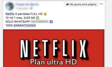 Cuentas de Netflix y Tarjetas Falsas - ¡No caigas en la trampa!