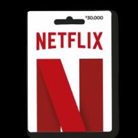 PIN virtual Netflix $30.000