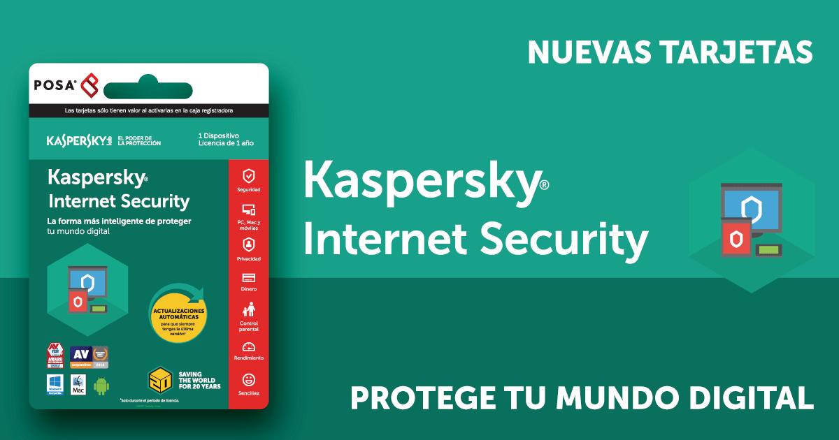 9fae8396889 Tarjetas Kaspersky en Colombia – Protege tu mundo digital | POSA Colombia -  Tarjetas y pines prepago de Juegos y Contenido