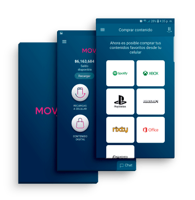 MOViiRED App vender recargas