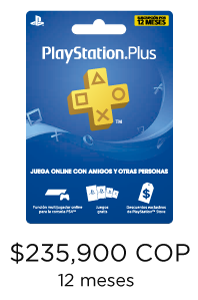 tarjetas regalo playstation plus colombia