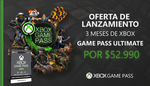 Oferta lanzamiento Xbox Game Pass Ultimate Colombia