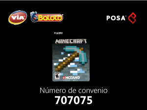 Pines Baloto Minecraft Colombia