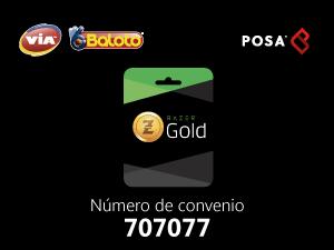pines Baloto Razer Gold Rixty Colombia